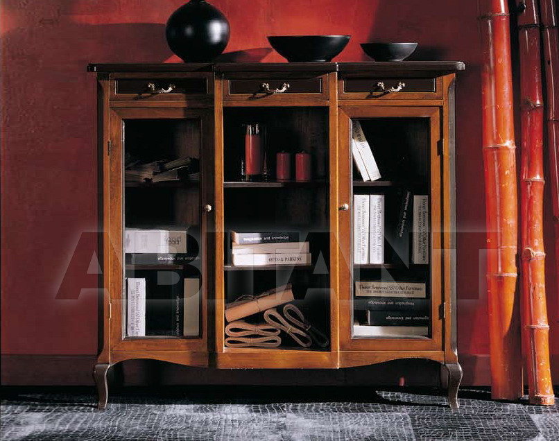 Купить Шкаф книжный Modenese Gastone Leondoro 7690