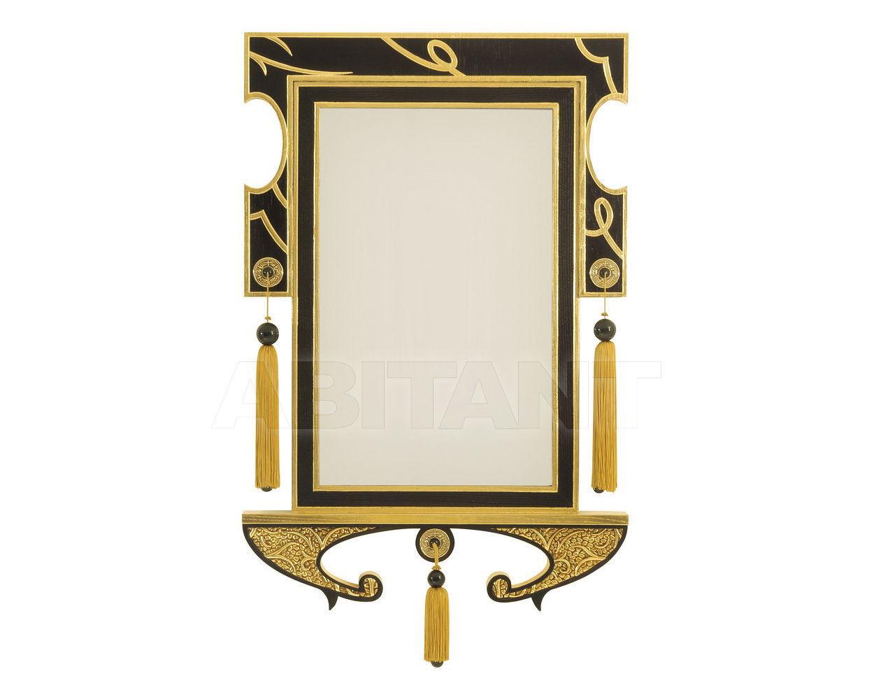 Купить Зеркало настенное Colombostile s.p.a. Transculture/noir Et Or 1748 SP