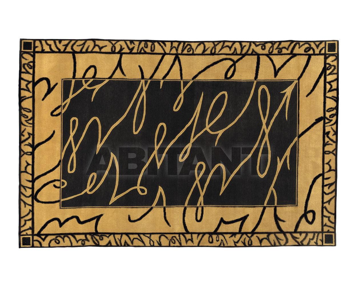 Купить Ковер современный Colombostile s.p.a. Transculture/noir Et Or 1756 TP