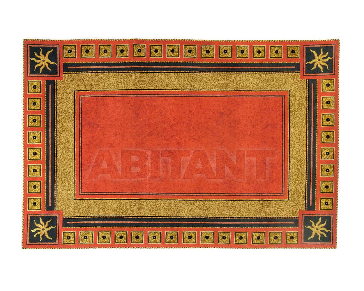 Купить Ковер современный Colombostile s.p.a. Transculture/rouge Et Or 1790 TP