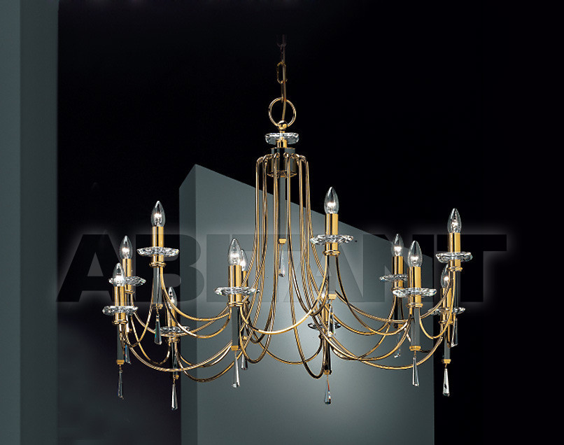 Купить Люстра Prearo Luxury Crystal CONTESSA/12 24K-CR