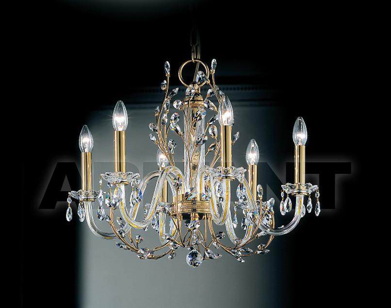Купить Люстра Prearo Luxury Crystal DIVA/6/A 24K-CR