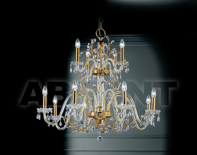 Купить Люстра Prearo Luxury Crystal DIVA/8+4/A 24K-CR