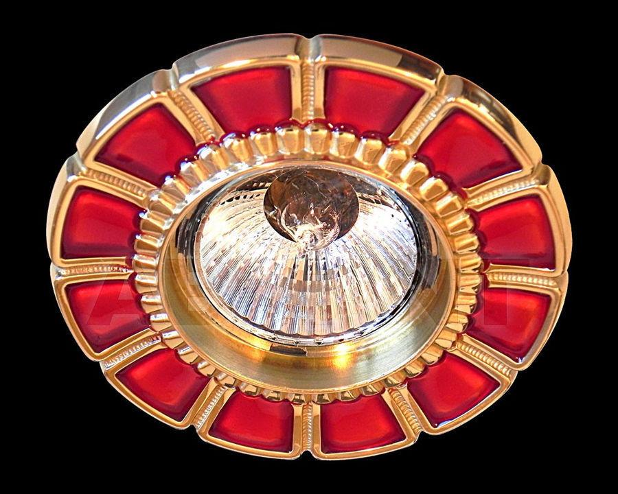Купить Встраиваемый светильник Gumarcris  Metallic 380ROJ