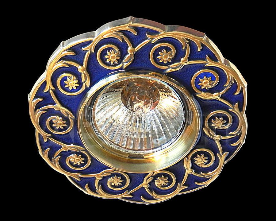 Купить Встраиваемый светильник Gumarcris  Metallic 391AZU