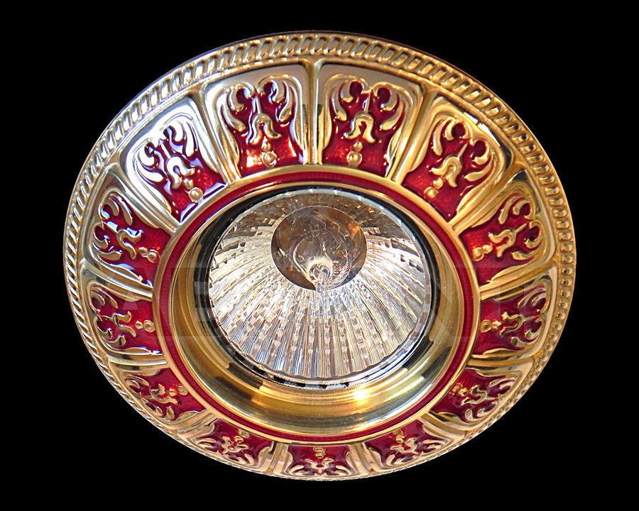 Купить Встраиваемый светильник Gumarcris  Metallic 402ROJ