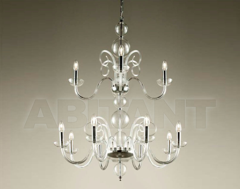 Купить Люстра Lumi Veneziani Premium Collection 509 8+4 CLEAR