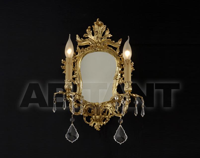 Купить Светильник настенный Arredo Luce Gold Light And Crystal 12.299.C/2