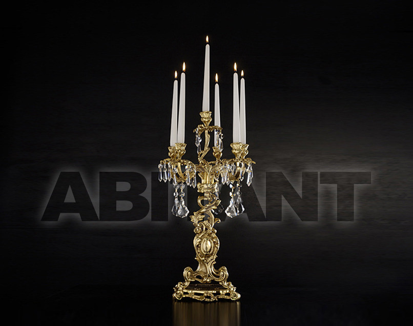 Купить Подсвечник Arredo Luce Gold Light And Crystal 12.850.C/6
