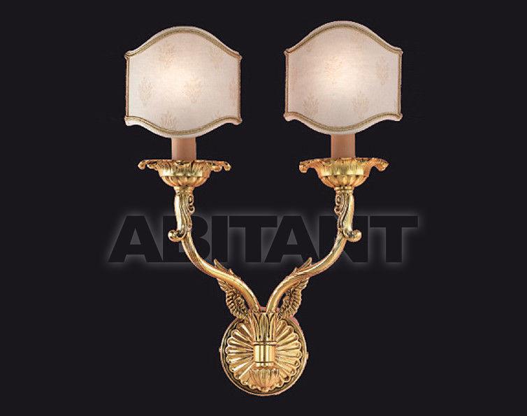 Купить Светильник настенный Arredo Luce Gold Light And Crystal 12.766/2