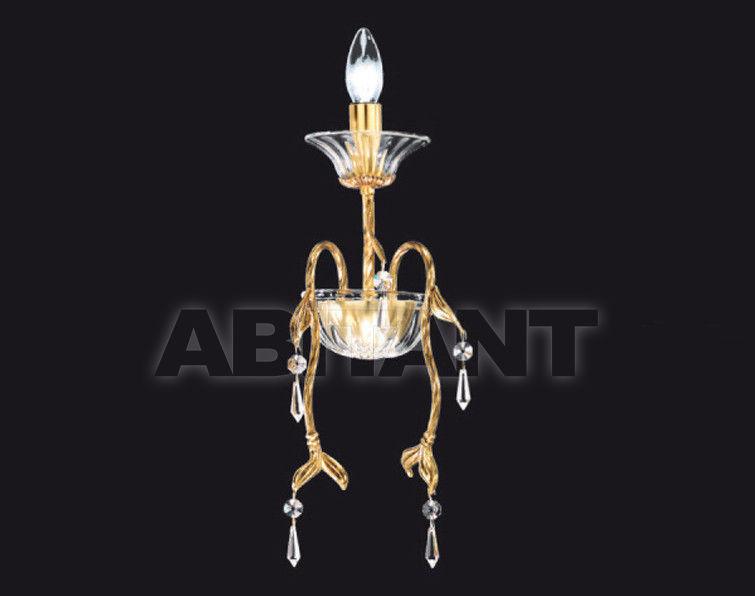 Купить Светильник настенный Arredo Luce Gold Light And Crystal 12.254/1