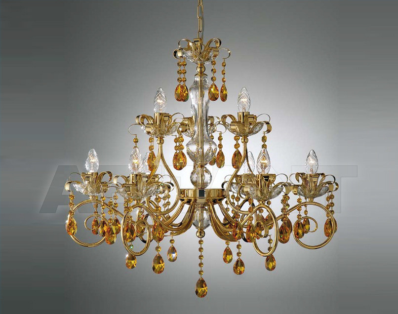 Купить Люстра Arredo Luce Luxury Crystal 710/6+3