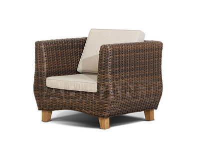 """Нола"" кресло  темно-коричневое"