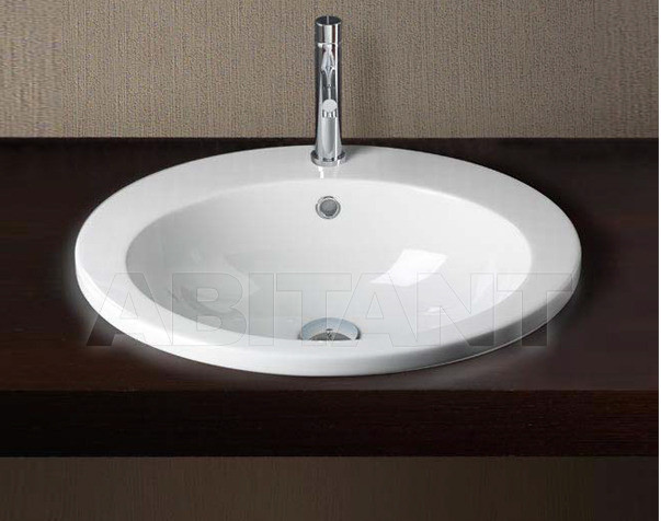 Купить Раковина накладная CIRCLE 45 BIANCO GSI Ceramica Panorama MASIAN