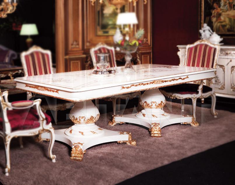 Купить Стол обеденный Cantaluppi Collections 2012 Ermitage white Tavolo