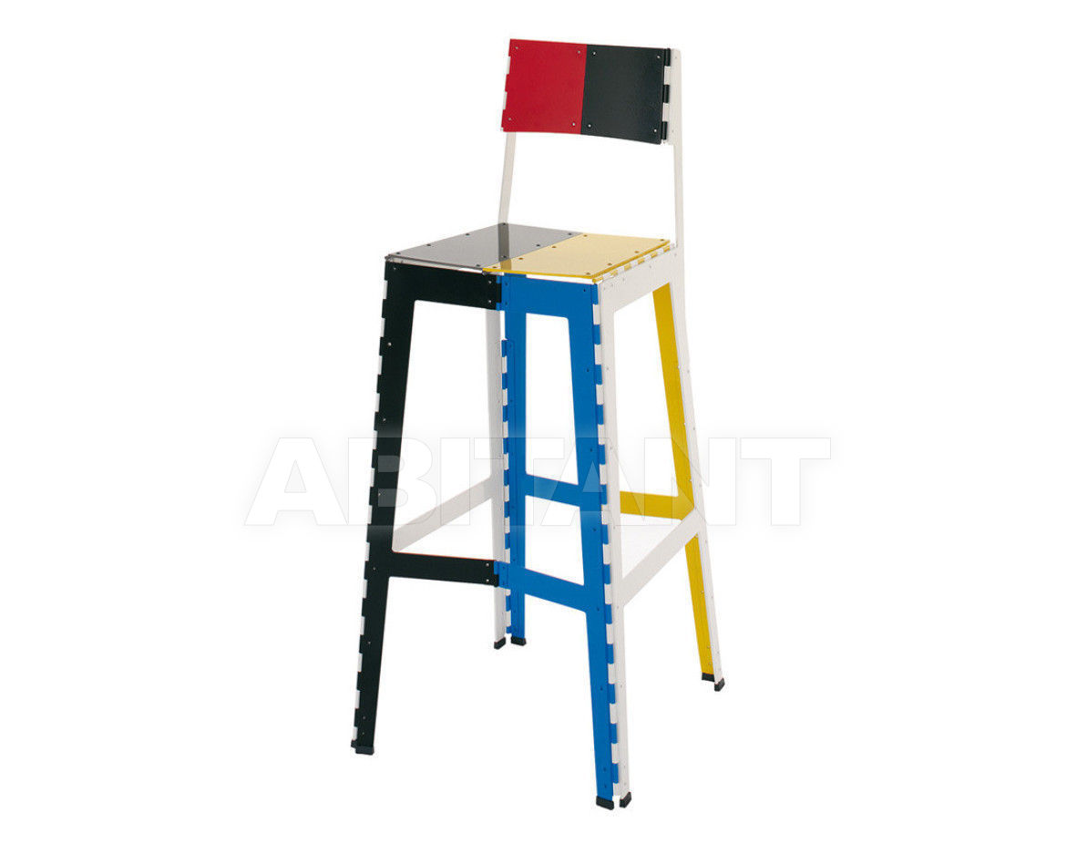 Купить Барный стул Stitch Cappellini Collezione Sistemi STC2PC