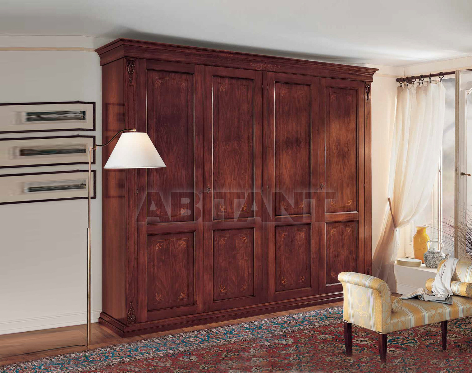 Купить Шкаф гардеробный F.lli Corso Srl L'ottocento 1060