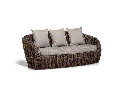 """""""Авела"""", диван трехместный, темно-коричневый"""