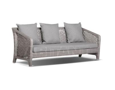 "Лабро" диван трехместный серый