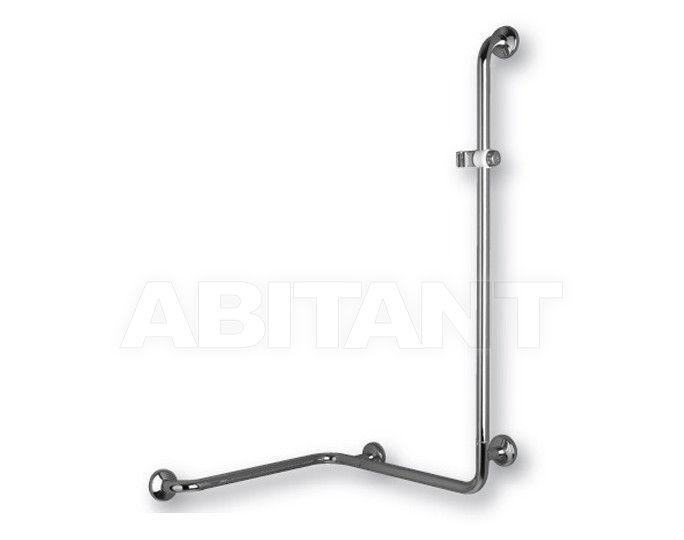 Купить Ручка для ванной/душа Ponte Giulio Polished Steel G29JBRN106