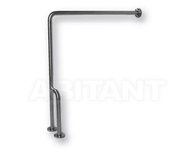 Купить Ручка для ванной/душа Ponte Giulio Satin Steel G55JCRN138