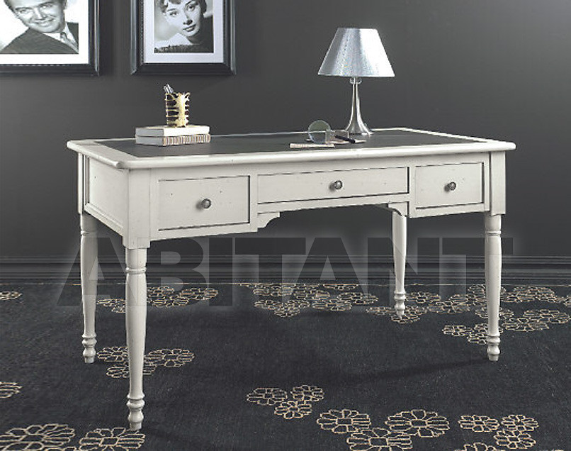 Купить Стол письменный Tarocco Vaccari Group Complimenti 14015 White