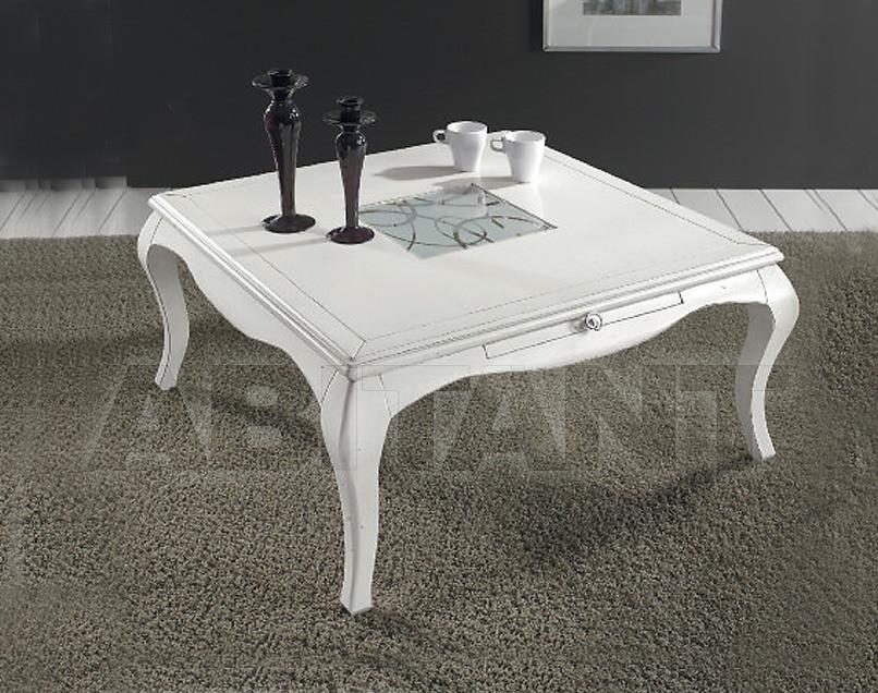 Купить Столик журнальный Tarocco Vaccari Group Complimenti 14930 White