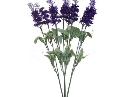 8J-1105B0031 Веточка лаванды с 8 цветками 35 см (24)