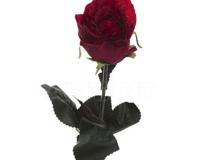 8J-1211S0002 Роза бордовая 48 см (36)