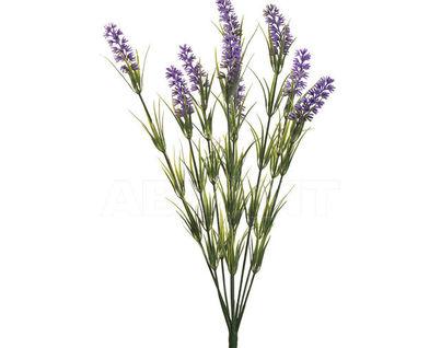 8J-12MB0001 Веточка лаванды с 9 цветками 46 см (48)