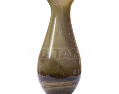 HJ1225-38-H5 Ваза стеклянная (желто-коричневая) H37D16.5
