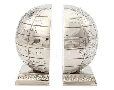 "IK41252 Держатель для книг ""Алюминиевый глобус"" 15х8х17"