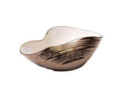 LS09 Ваза керамическая золотая 33*23*13