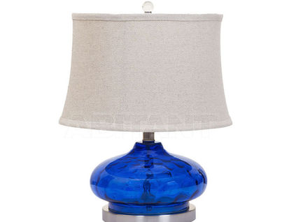 AQ-G9D Лампа настольная (синий) В46хД36