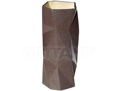 XT03-30 Ваза керамическая коричневая 12*12*29,5