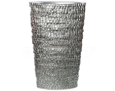 ZSC829-24 Кашпо серебряное 40*20*60