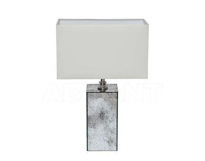 KFE004 Лампа настольная с зеркальными вставками плафон бежевый 400*210*590