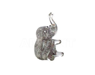 """F6544 Статуэтка """"Слон"""" 8,5х6,5х12 (серый)"""