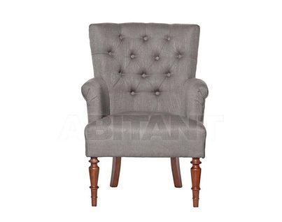PJC298-J64 Кресло бежево-серый лен 970*675*750