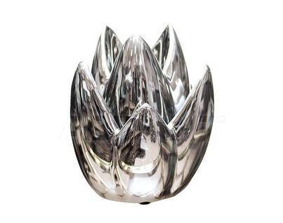 10K8152A Подсвечник серебряный 16,5*16,5*24