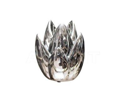 10K8152C Подсвечник серебряный 11*11*14.5