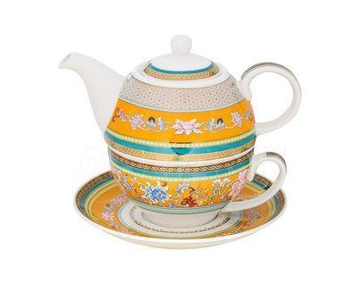 26FC TIFFANY TEACUPSC Набор чайник заварочный, чашка, блюдце (1)
