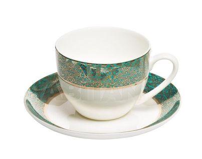 25WIN RIVIERA CUP/S 200 Чайная пара 200мл,цвет бирюзовый (6)