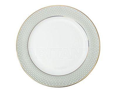25WIN SORRENTO PL27 Тарелка обеденная 27см,серый орнамент (4)