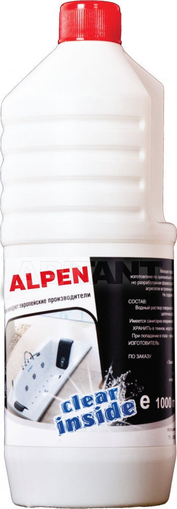 Купить Средство для гидромассажных систем ванн, 1000 мл. ALPEN Alpen CH001