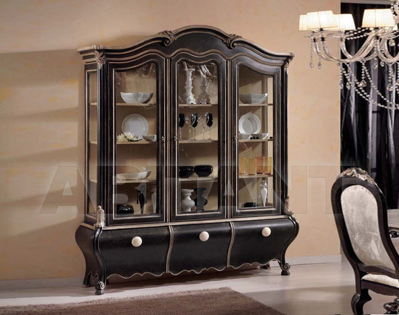 Купить Сервант Tarocco Vaccari Group Luxury P715 nero