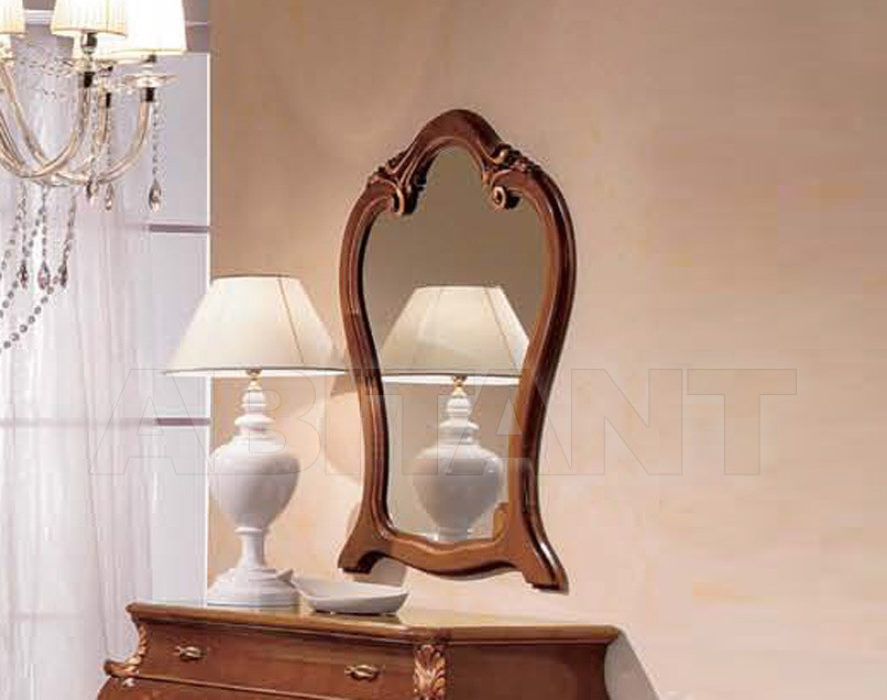 Купить Зеркало настенное Tarocco Vaccari Group Luxury P771 noce