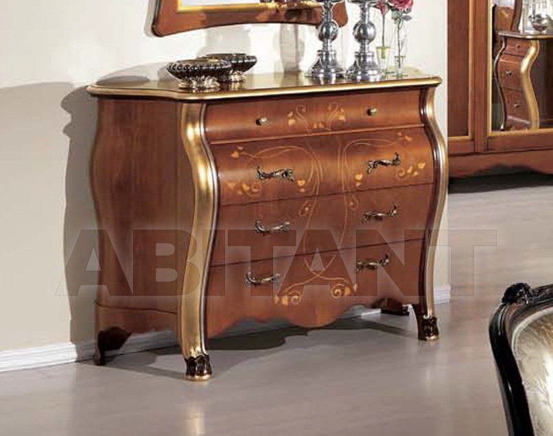 Купить Комод Tarocco Vaccari Group Luxury A968 noce