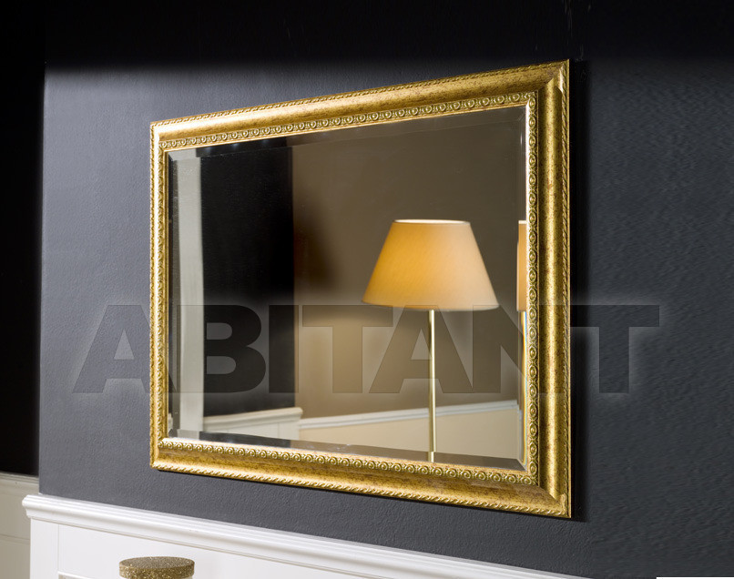 Купить Зеркало настенное Tarocco Vaccari Group Specchiere AH/6GOLD