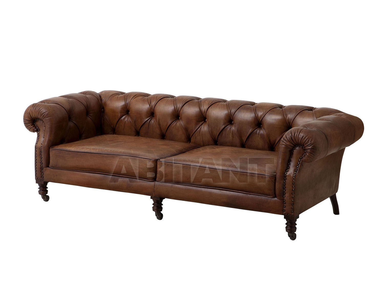Купить Диван Club The Athenaeum Eichholtz  Chairs And Sofa's 106851